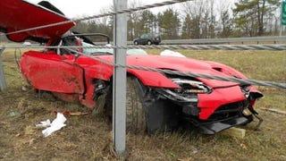 First 2013 Viper wreck.. RIP Martin Morse