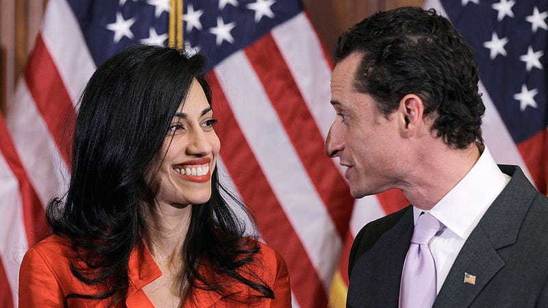 What Are Anthony Weiner and His Wife Talking About Right Now?