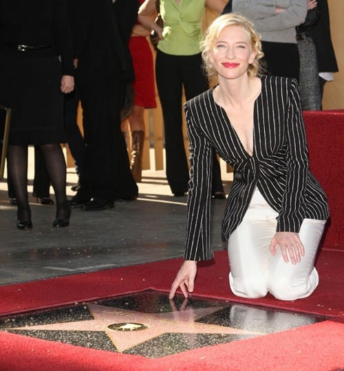 Cate The Great Finally Gets Her Star