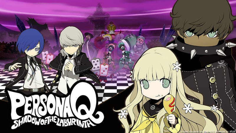 New Details And Videos For Persona Q Shadow Of The Labyrinth