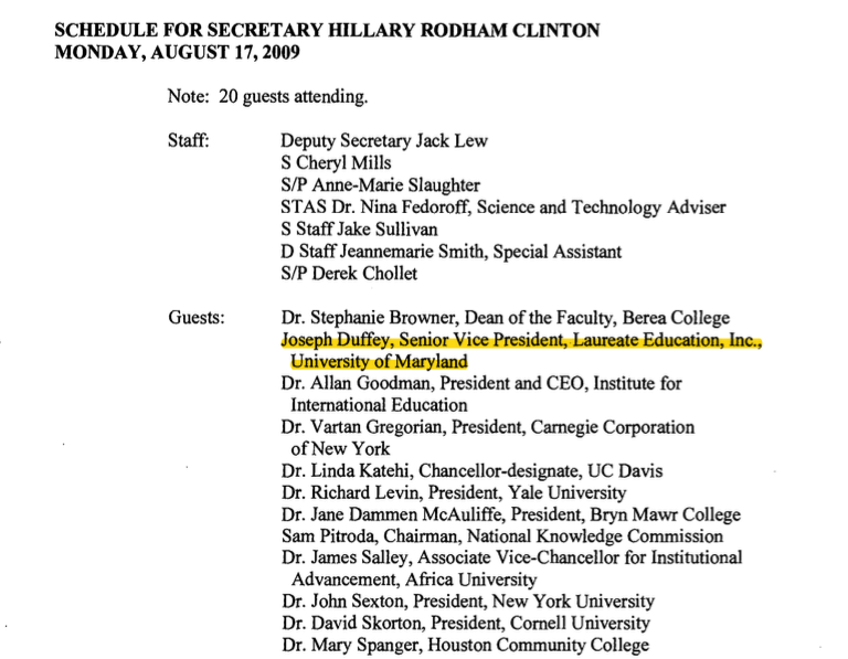The Clintons Have a For-Profit College Problem Of Their Own