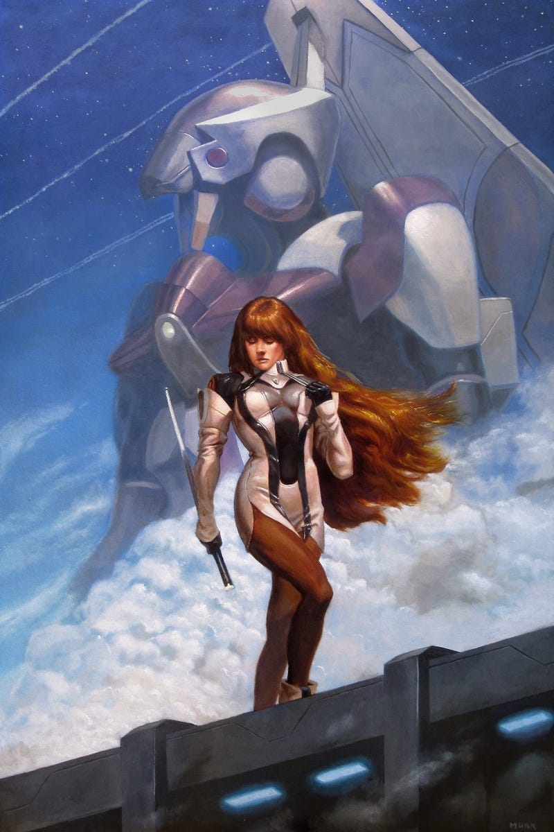 Xenogears Lives On In This Awesome Painting