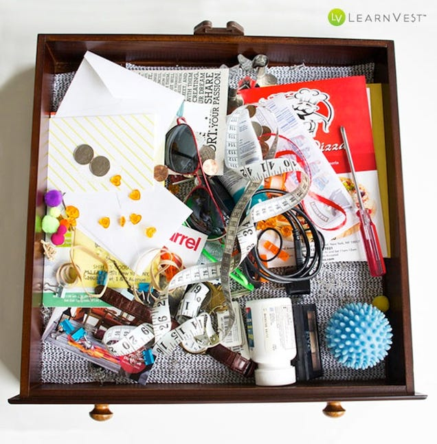 Organization Ideas For Junk Drawers: Organize Your Junk Drawer With Stuff You Already Have