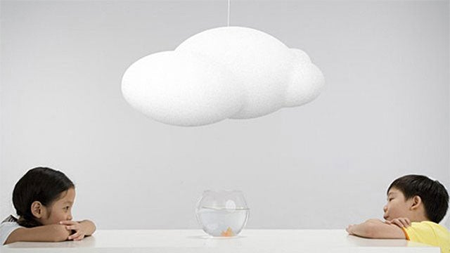 A Cloud Lamp For iCloud Users