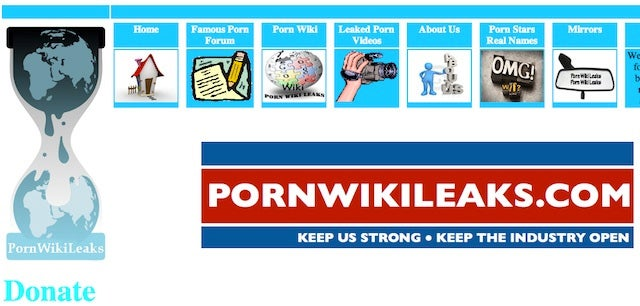 The Wikileaks Knockoff That Has the Porn Industry Terrified