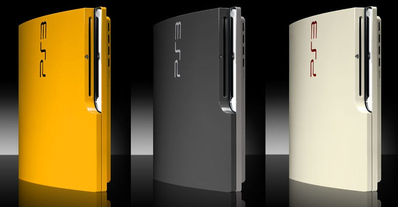 Don't Like Black? Get Your PS3 Slim In Other Colours