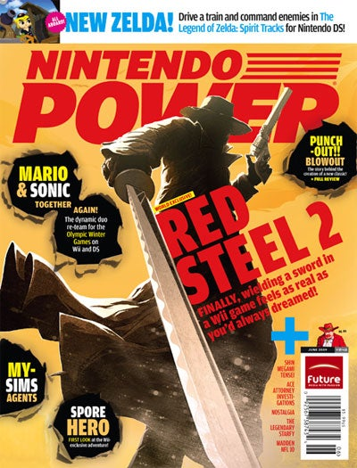 Nintendo Power Unsheathes Red Steel 2, Wii MotionPlus Support