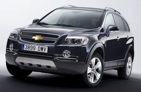 Chevy Capitva Gets Sportier For Europeans on the Go