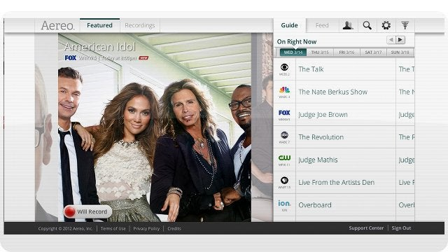 Web TV Service Aereo Plans To Be in Every Major US City By 2013