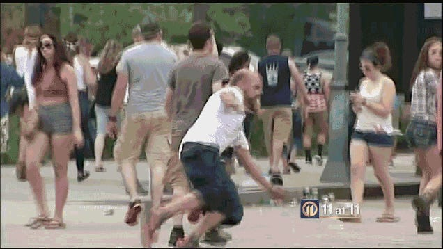 Report On Drunks At Luke Bryan Concert Features Really, Really Drunk Guy