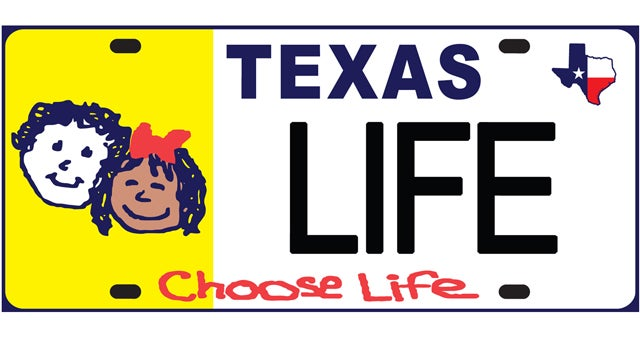 Texas' Charity Anti-Abortion License Plates Benefit Exactly Zero Charities