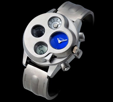 Storm Navigator Watch Has Four-Faced Attitude