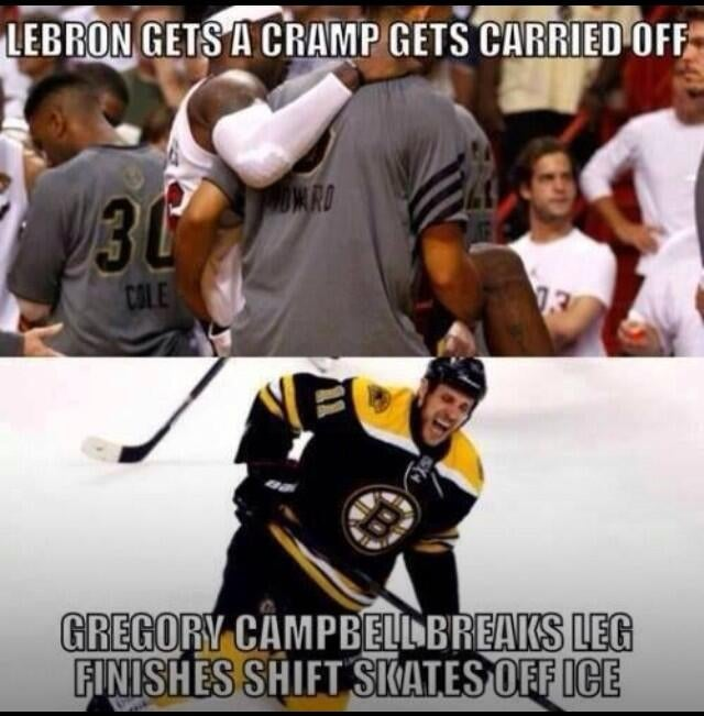 Hockey Fans Using Rich Peverley To Shit On LeBron James Are The Worst