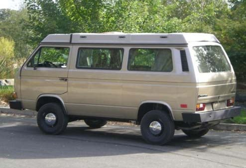 Nice Price Or Crack Pipe: $41,000 1986 Volkswagen Syncro Westfalia Weekender?