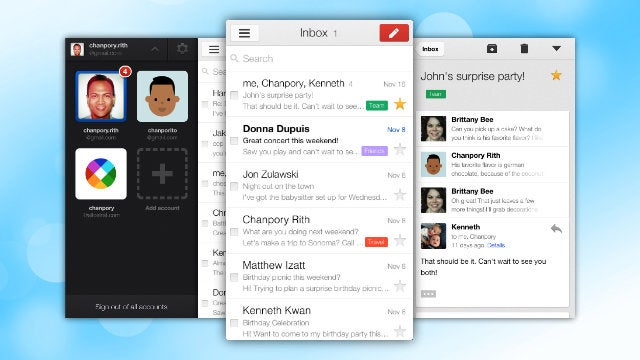 Gmail for iOS Gets a Completely New Look, Finally Supports Multiple Accounts