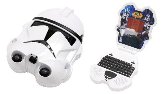 Clone Wars Merch Floodgates Open With Clone Trooper Kiddie Laptop