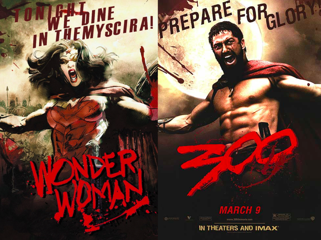 Your Favorite DC Superheroes, Drawn Into Famous Movie Posters