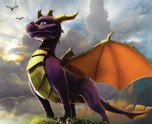 Movie Spyro Looking Rather Impressive