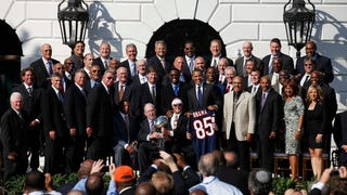 The '85 Bears At The Obama White House: A Historic P