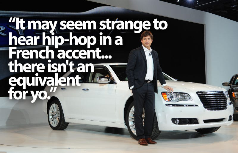 Chrysler's French President Loves Eminem