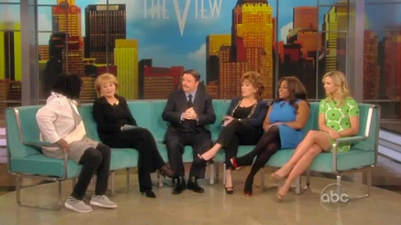 Someone Finally Vomits Live on The View
