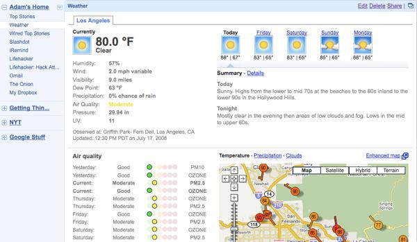 The New iGoogle Gets Full-screen Gmail