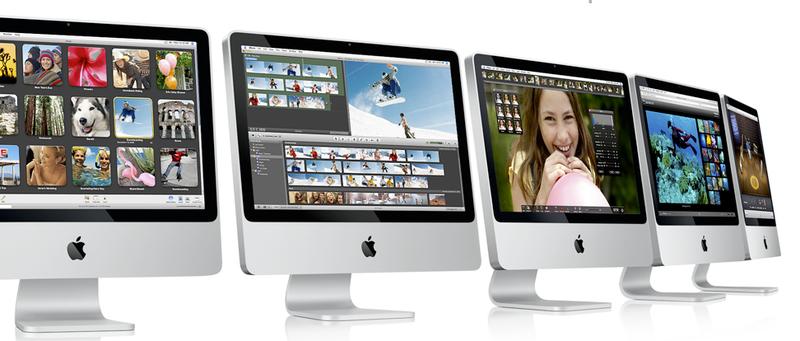Sleek New iMacs Made of Aluminum and Glass, Retro 70s Look