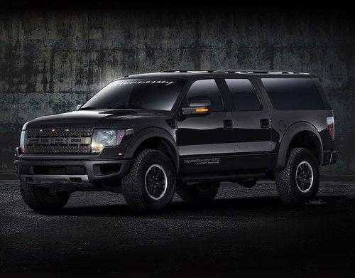 Hennessey VelociRaptor APV SUV: First Renders