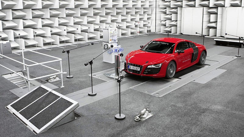 How Audi Makes Its Electric Cars Sound Like Futuristic Gas Guzzlers