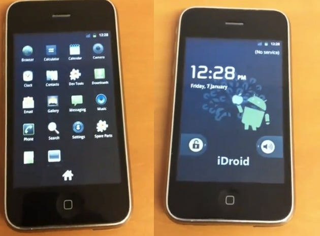 iPhone 3G Hacked With Android 2.3 Runs Gingerbread Before Your Androidphone