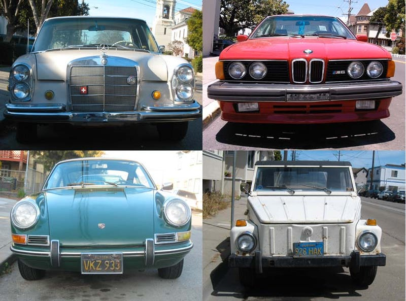 Celebrating 450 Old Vehicles Down On The Alameda Street: The Germans