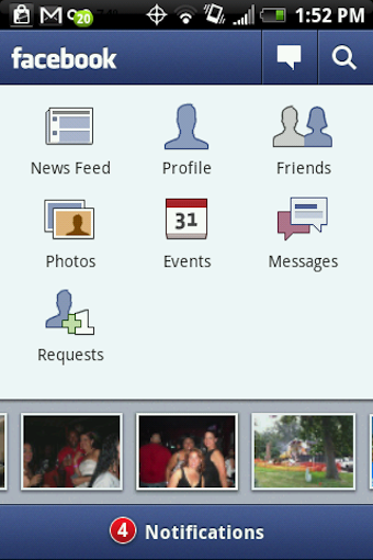 Facebook for Android Updates to 1.3, Is Finally Good