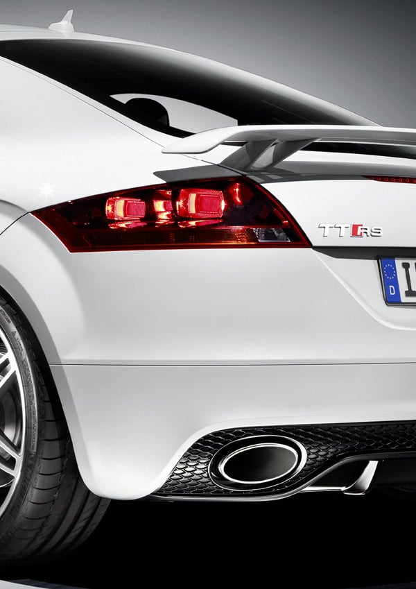 2010 Audi TT RS: The Super-TT Is Such A Tease