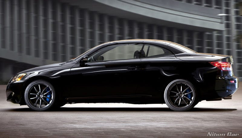 Lexus IS C, GS Get F-Sportier