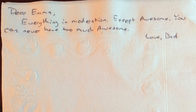 Dying Man Writes 800 Inspirational Notes for Young Daughter's Lunch