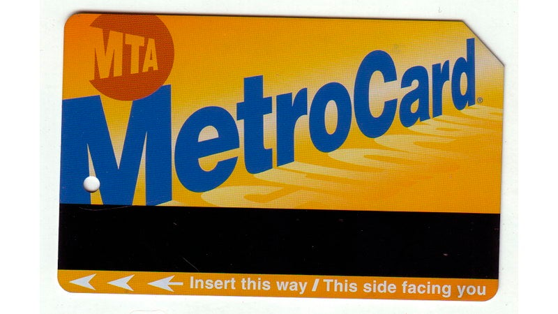 Selling MetroCard swipes no longer a felony