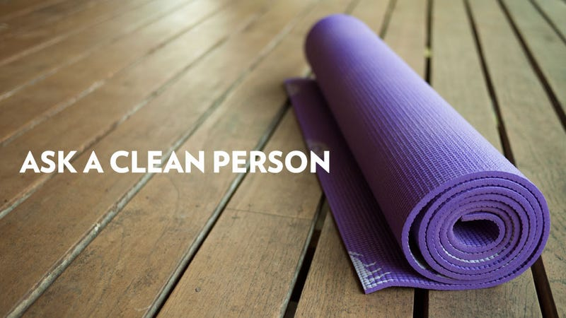 Maybe Clean Your Gym Bag and Yoga Mat Every Now and Again?