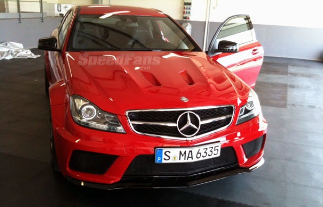 This is the new Mercedes-Benz C63 AMG Black Series