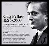 New York Founding Editor Clay Felker To Be Memorialized This Evening