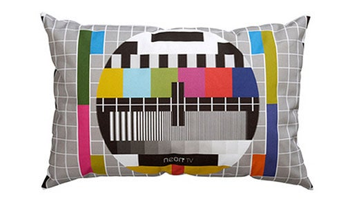 Color TV Would Not Exist Without the Test Pattern Pillow