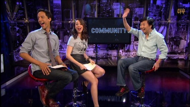 Danny Pudi, Alison Brie, and Ken Jeong Take Over Attack of the Show!