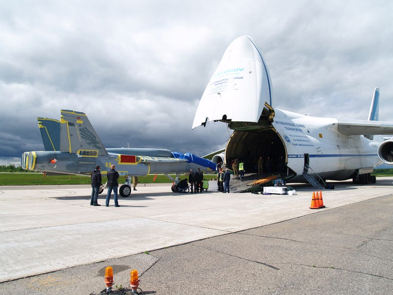 Antonov Eats F/A-18, Then Eats Another One for Dessert