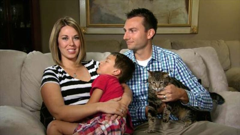 Boy Saved by Hero Cat Sleeps Through Today Show Interview