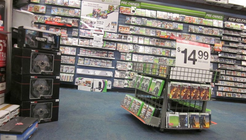 Choose Your Own Adventure… in Gamestop