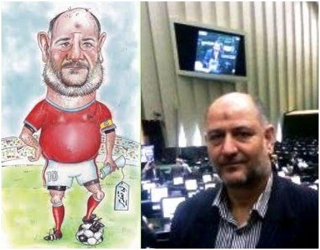 Iranian Cartoonist Gets 25 Lashes For Drawing Politician As Soccer Player