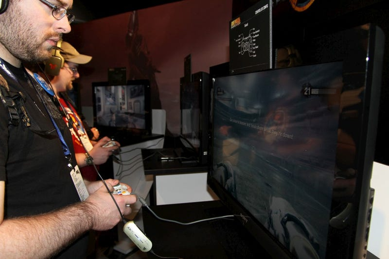The Duke Nukem Forever PAX Demo: A Not-For-Kids Photo Gallery
