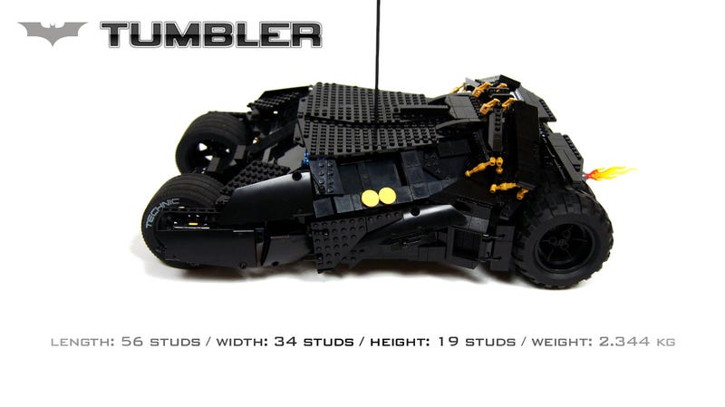A Motorised LEGO Batmobile? With Guns And Flame Effect? Yes Please.