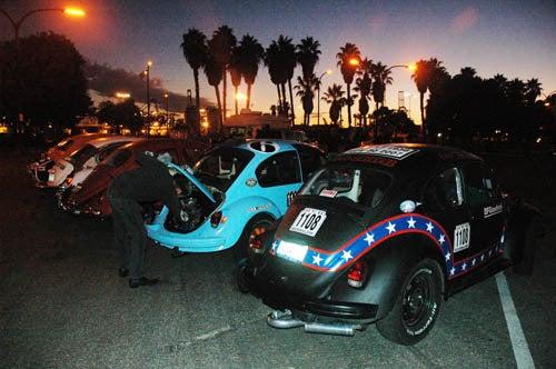 BeetleBall Long Beach to Las Vegas!