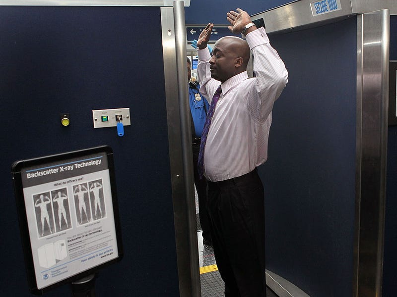 Scientists Concerned About Safety of New Airport X-Ray Scanners