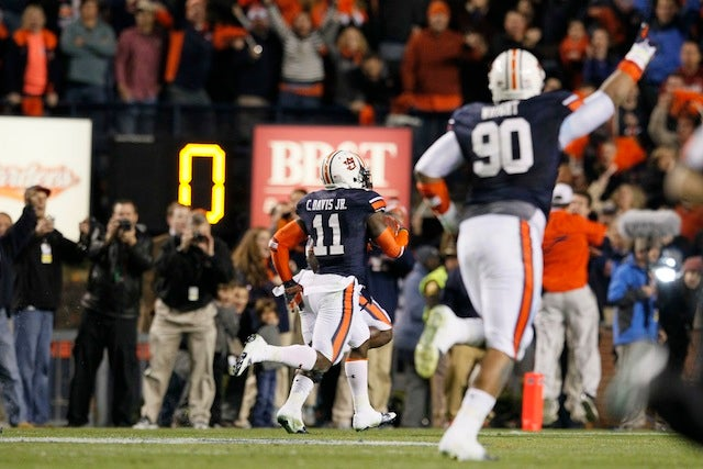 Auburn's Field Goal Return Was Even Rarer Than You Think